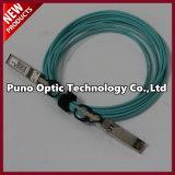 10 pies MPO a la polaridad B del cable del pleno del tronco OFNR del Aqua del cable óptico 8 de fibra de MPO