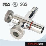 Nivel de acero inoxidable sanitario sujeta con drenaje (JN-FT1005)