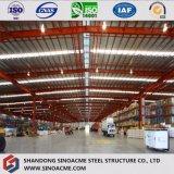 Construction/construction en acier préfabriquées assemblées rapides/jeté