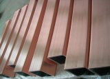 Tubo de cobre del molde del cobre del tubo del molde para el billete rectangular