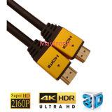 3D, 4k, le meilleur câble de la qualité HDMI de 2160p V2.0b