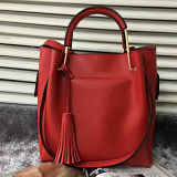 Sacchetto di mano del sacchetto di Tote della signora cuoio genuino del progettista della borsa delle 2017 donne di modo Emg4800