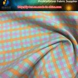 Tessuto di trama Yarn-Dyed di nylon dello Spandex con antimicrobico per l'indumento