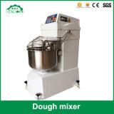 Misturador de massa de pão da farinha da espiral da velocidade dobro de aço inoxidável 25L de eficiência elevada