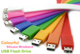 Customized Silicon Wristband Pendrive USB 2.0 USB 3.0 Flash Drive