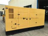 Conjunto de generador diesel refrigerado por agua de 6 cilindros con Cummins Engine