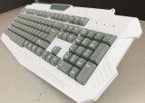 Computer-Tastatur-Spiel Djj218 weißes USB-Schlüsselvorstand-Spanisch
