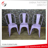 Großserienfertigungs-verschiedener Farben-Metallblatt-Kaffee-Stuhl (TP-20)