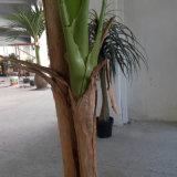 Árbol de plátano Planta artificial caliente decorativo del hogar con 27 hojas