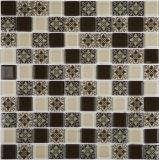 Mosaico de cristal de la pared del mosaico del diseño del fondo