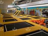 Trampoline retangular, parque interno do Trampoline para crianças