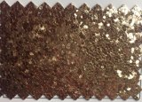 Grote Glanzende Sequines schittert het Leer van Pu voor Schoenen Decaration hw-1421