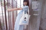[أز01] نمو أصليّة طازج نوع خيش حقيبة حقيبة [شوبّينغ بغ] حقيبة [أرت كنفس] طباعة كتف مال