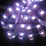 luz de tira flexible amarilla de 12V-24V los 30LEDs/M SMD5050 LED