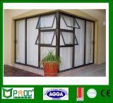 Aluminiumgeöffnetes nach außenfenster und Tür-Markise Windows mit As2047