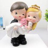 조각품 신랑 신부 수지 훈장 결혼 선물 장식 결혼