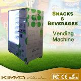 Qualitäts-kombinierter Verkaufäutomat für kaltes Getränk und Frucht