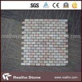 Mattonelle di mosaico di marmo bianche di Cararra del reticolo del mattone per la parete della stanza da bagno