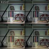 4 أسلوب 5 مستوية قابل للتعديل [ديمّبل] [إ-كر] [لد] مكتب [تبل لمب] قراءة ضوء مع [2ا] [أوسب] مينة شاحنة