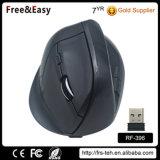 Enfriar la batería recargable ergonómico vertical del ratón inalámbrico
