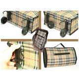 Sac s'étendant durable réutilisable portatif de chariot de chariot à polyester du supermarché 600d