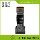 scanner tenu dans la main de niveau industriel de code barres de l'écran tactile PDA avec l'imprimante