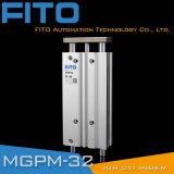 Mgpm Mgpl 세 배 로드 SMC 유형에 의하여 압축 공기를 넣은 공기 실린더