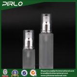 bottiglia della lozione di vetro glassato di 20ml 30ml 50ml con la pompa della lozione per l'estetica