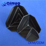 Protecteurs faisants le coin carrés du plastique 3-Sided de la coutume 75*75*75 millimètre de Qinuo