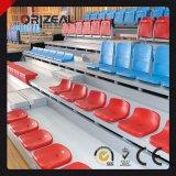 Disposizione dei posti a sedere ritrattabile telescopica, disposizione dei posti a sedere ritrattabile telescopica per la ginnastica di pallacanestro