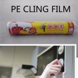 L'extension en plastique respectueuse de l'environnement s'attachent film d'enveloppe de nourriture