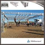 Напольная ферменная конструкция полосы препятствий Thomas Ninja 12 дюймов алюминиевая