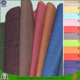 Tissu imperméable à l'eau de pongé d'enduit d'arrêt total de franc de tissu de polyester pour la garniture de rideau