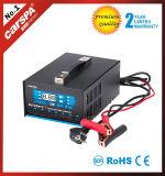 12/24V 60A 임시 직원과 가진 디지털 표시 장치를 가진 자동적인 7개의 단계 배터리 충전기. 보상