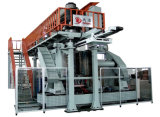 Machine biposte de soufflage de corps creux d'Acuumulative de Deux-Couche