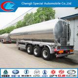 Adr van Saso PUNT 42000 van het Aluminium van de Brandstof Liter Aanhangwagen van de Tank van de Semi