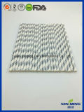 Party Decoration and Silver Foil Strip Paper Straw