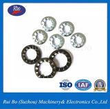 Arandela de bloqueo serrada interna del acero inoxidable de la ISO/del acero de carbón DIN6798j