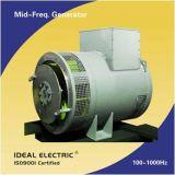 100-1000Hz中間周波数ブラシレス同期発電機(交流発電機)
