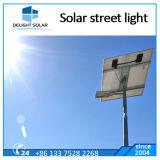 indicatore luminoso di via solare ricaricabile montato Palo dell'inondazione LED di 12V/24V 40With60W