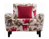 Кресло ткани высокого качества с таблицей чая: 1+2+3