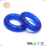Blaue Semitransparent Silikon-Ring-Dichtung