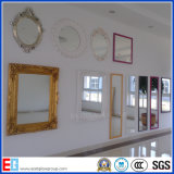 Lo specchio su ordinazione di figura di Clear&Colored/ha rifinito lo specchio/specchio del blocco per grafici