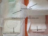 Papel absorbente de Airlaid de la cena para la base absorbente del pañal