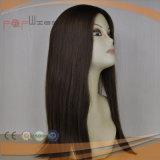 Cutícula superior de seda da pele branca Intact na peruca das mulheres