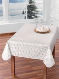 Het hete Afgedrukte Plastic Tafelkleed van de Verkoop Douane met de Niet-geweven/Steun van de Stof LFGB Van uitstekende kwaliteit