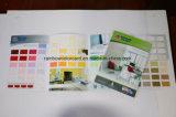 Выдвиженческая книга карточки цвета краски стены строительного материала