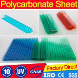 Feuille matérielle de polycarbonate de panneau de toiture de Bayer