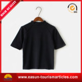 Maglietta lunga interna barrata del manicotto degli uomini del poliestere o del cotone