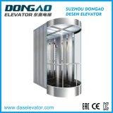 Elevatore di osservazione con fare un giro turistico di vetro di buona qualità